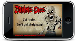 Zombie Dice on your iPhone!