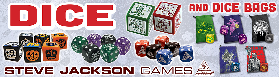 Banner link to Dice Store