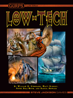 GURPS Low-Tech Companion 2: Weapons and Warriors – Cover