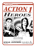 GURPS Action 1: Heroes – Cover