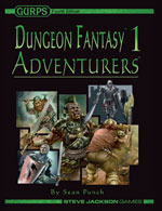GURPS Dungeon Fantasy 19: Incantation Magic – Cover