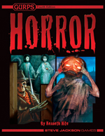 GURPS Horror – Cover