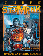 GURPS Steampunk 2: Steam and Shellfire – Cover