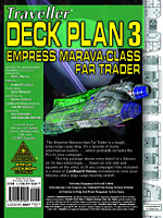 Deck Plan 3 Empress       Marava-Class Far Trader